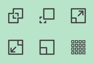 Aligment Icon Pack