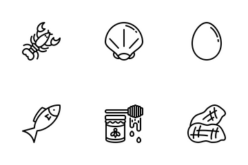 Allergens Icon Pack