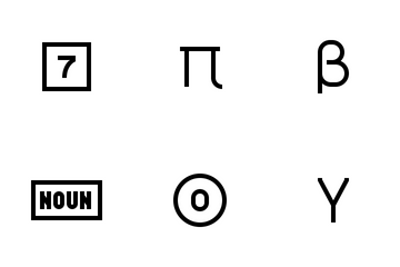 Alphabet  Icon Pack