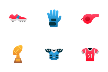 American Football Icon Pack