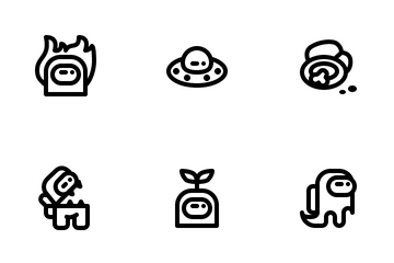 Among Us Game Icon Pack