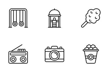 Amusement Park Icon Pack