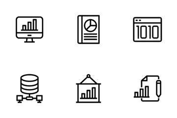 Analysis Data Icon Pack