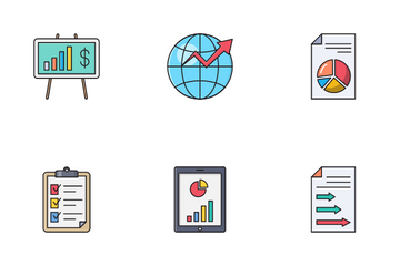 Analytics And Reports Icon Pack