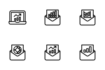 Analytics Vol 3 - Outline Icon Pack