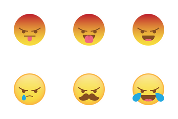 Angry Compilation Icon Pack