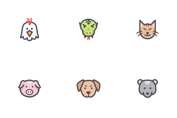 Animal And Pet Icon Pack
