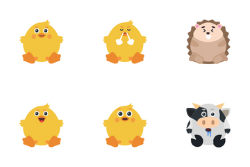 Animal Emoji Icon Pack