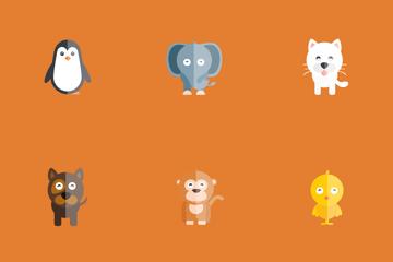 Animal Emoticon Icon Pack