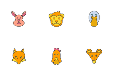Animal Face Icon Pack