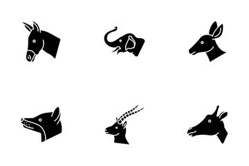 Animal Head Icon Pack