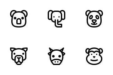 Animal (Line) Icon Pack