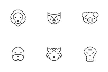 Animal Thinline Icon Pack