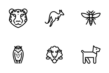 Animal Vol 1 - Line Icon Pack
