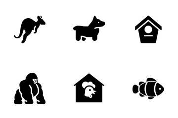 Animal Vol 1 - Solid Icon Pack