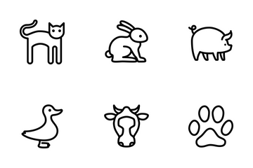 Animal Vol 2 - Line Icon Pack