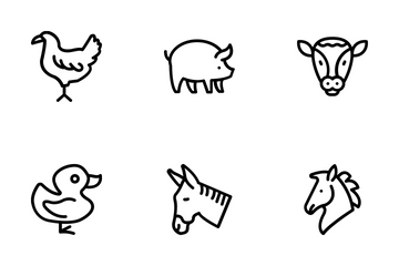 Animals 1 Icon Pack