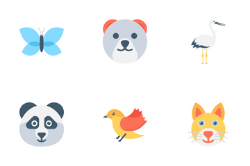 Animals And Birds Icon Pack