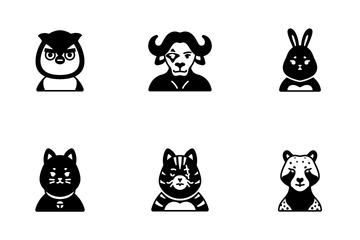 Animals Squad Icon Pack