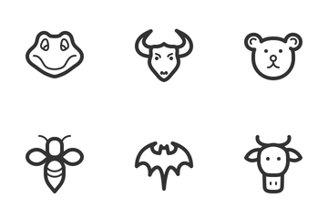 Animals & Wildlife Icon Pack