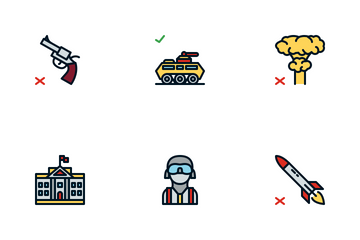 Anti-terrorism Icon Pack