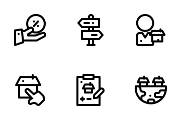 Apartment Marketing Icon Pack