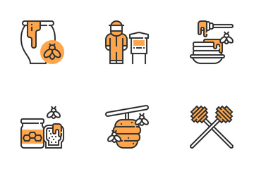 Apiary Elements  Icon Pack