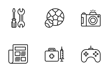 App Categories Icon Pack