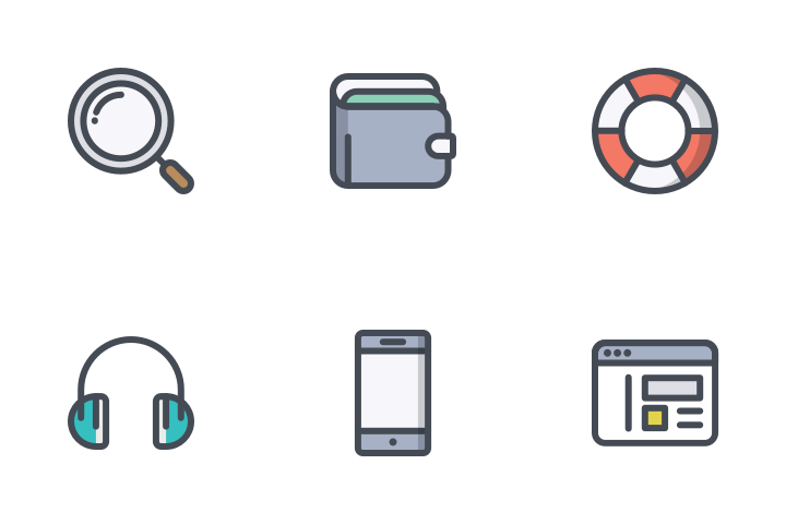 App SEO Bolt Line Icon Pack