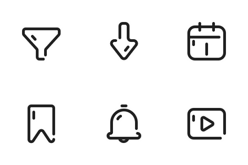 App UI Icon Pack
