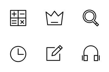 App UI Element Icon Pack