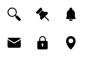 App User Interface Icon Pack