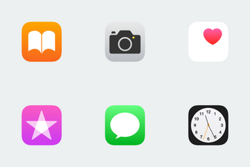 Apple Apps Icon Pack