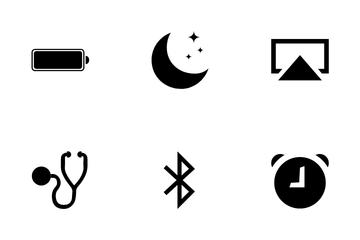 Apple Inspire Black Icon Pack