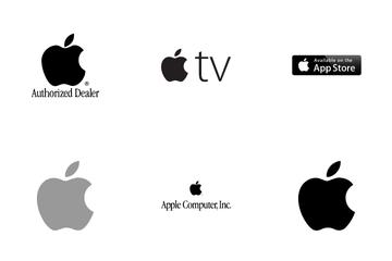 Apple Logo History Icon Pack