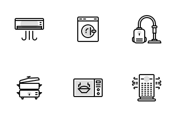 Appliances Icon Pack