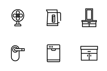 Appliances - Outline Icon Pack
