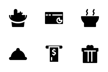 Application Payment (solid) Icon Pack