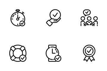 Approve Things Icon Pack