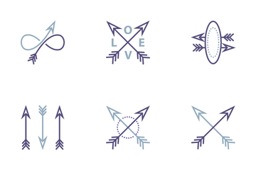 Archery &  Arrow Icon Pack