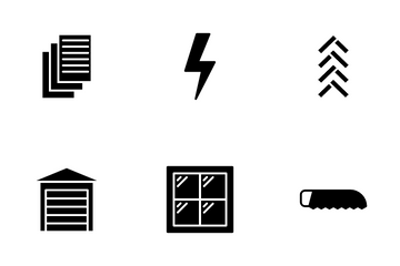 Architect And Construction Icon Pack