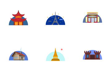 Architecture And Buildings  Icon Pack