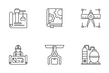Architecture & Engineering Icon Pack