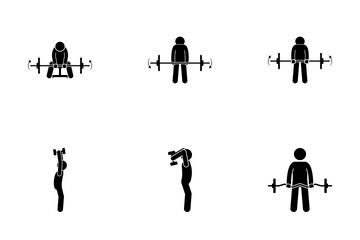 Arm Exercise Icon Pack