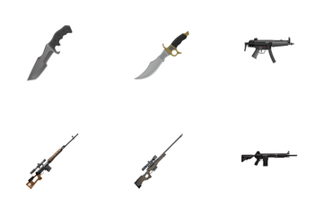 Army Guns Icon Pack