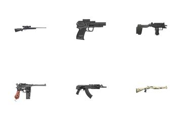 Army Guns Vol 2 Icon Pack