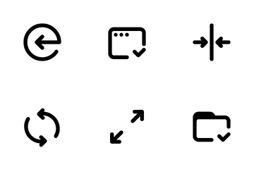 Arrow And Navigation Icon Pack
