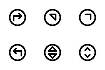 Arrow Circle Icon Pack