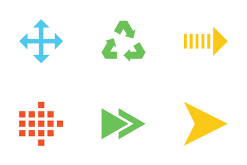 Arrow Collection Icon Pack
