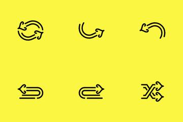Arrow Ethnic Icon Pack